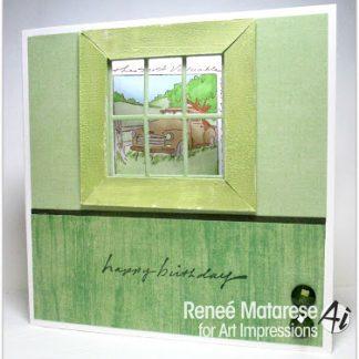 M4587 - Antiques Window
