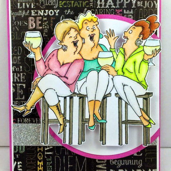 U4387 - Wine Tasters