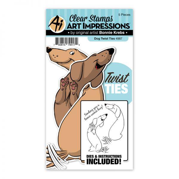 4987 - Dog Twist Ties
