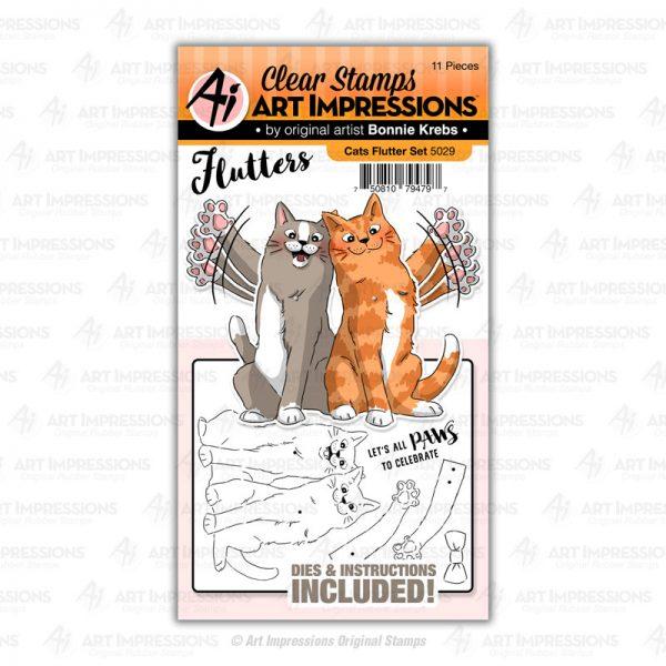 5029 - Cats Flutter Set