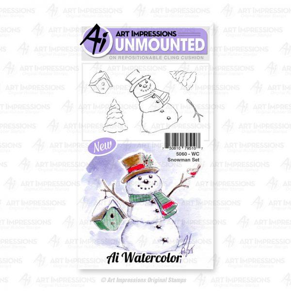 5060 - WC Snowman Set