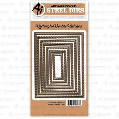 5063 - Rectangle A2 Double Stitched Dies