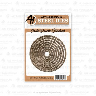 5064 - Circle Double Stitched Dies