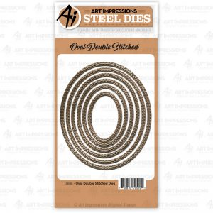 5065 - Oval Double Stitched Dies