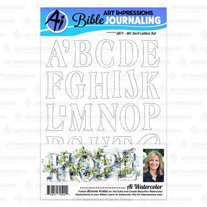 5071 - WC Serif Letters Set