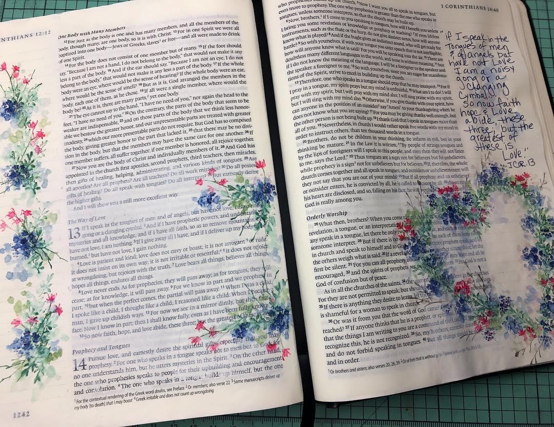 BIBLE - ESV Single Column Journaling Bible
