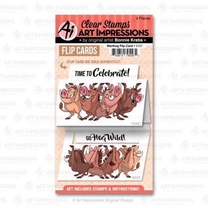 5107 - Warthog Flip Card