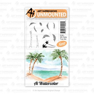 5120 - WC Palm Tree Set