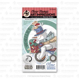 5176 - Snowman Wheelie