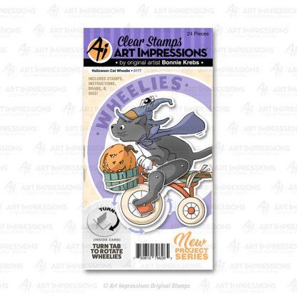 5177 - Halloween Cat Wheelie