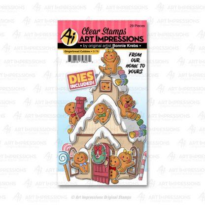 5178 - Gingerbread Cubbies