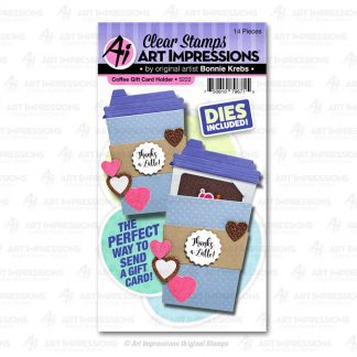 5222 - Coffee Gift Card Holder