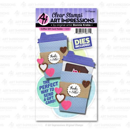 5222 - Coffee Gift Card Holder