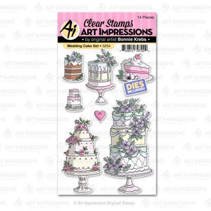 5254 - Wedding Cake Set