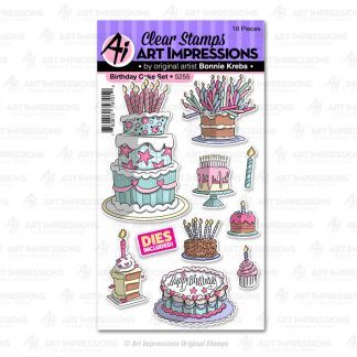 5255 - Birthday Cake Set