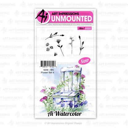 5258 - WC Flower Set 4