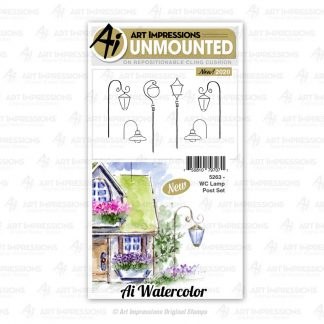 5263 - WC Lamp Post Set