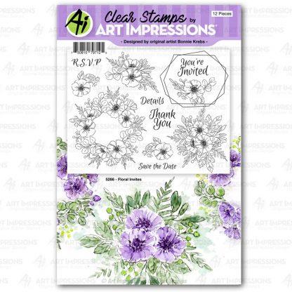 5267 - Floral Invites