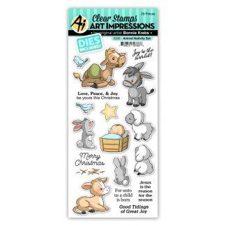 5350 - Animal Nativity Set