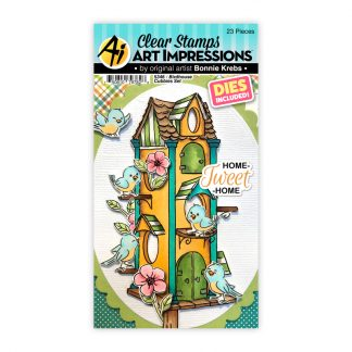 5346 - Birdhouse Cubbies Set