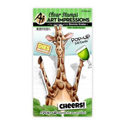 5354 - Giraffe Pop-Ups