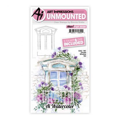 5364 - WC Ornate Window Set