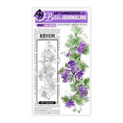 5375 - Grape Border Set