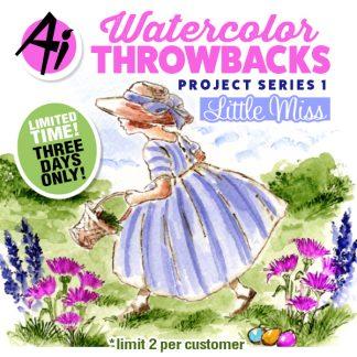 Watercolor Throwbacks